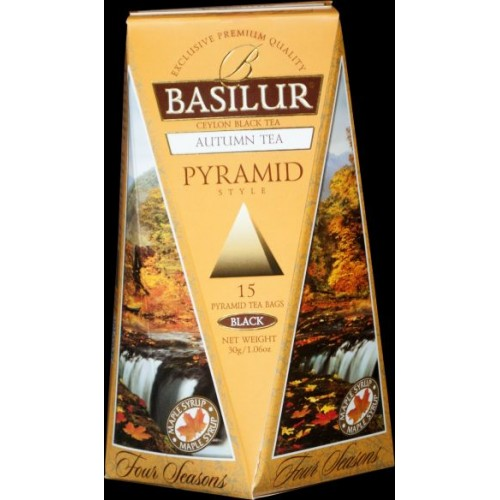 BASILUR Four Season Autumn Pyramid 15x2g (4773)