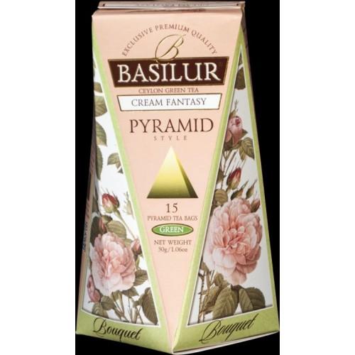 BASILUR Bouquet Cream Fantasy Pyramid 15x2g (4791)
