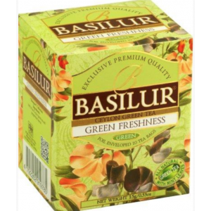 BASILUR Bouquet Green Freshness 10x1,5g (4910)