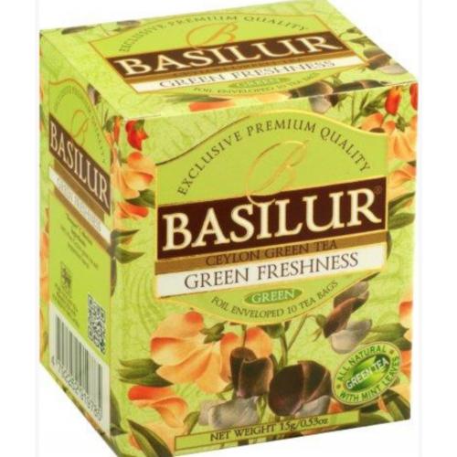 BASILUR Bouquet Green Freshness 10x1,5g (4910)
