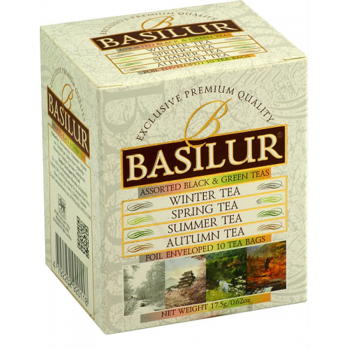 BASILUR Four Season Assorted 5x1,5g a 5x2g (4954)