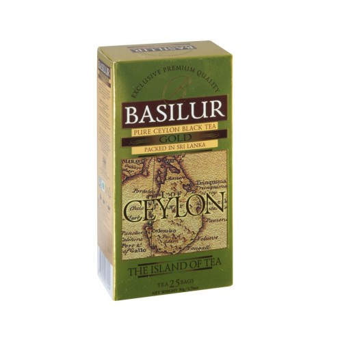 BASILUR Island of Tea Gold 25x2g (7310)