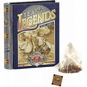 BASILUR Legends Earl Grey plech pyramid 5x2g (7358)