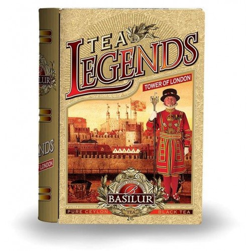 BASILUR Book Legends Tower of London plech 100g (7362)