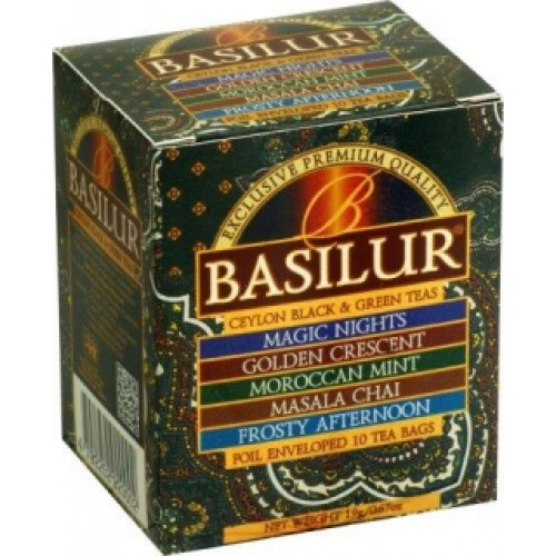 BASILUR Assorted Orient 8x2g a 2x1,5g (7385)