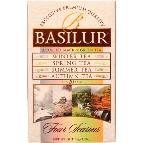 BASILUR Assorted Four Season 10x1,5x2g (7411)
