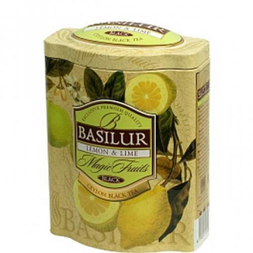 BASILUR Magic Lemon & Lime plech 100g (7552)