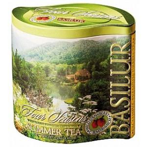 BASILUR Four Season Summer Tea plech 100g (7572)