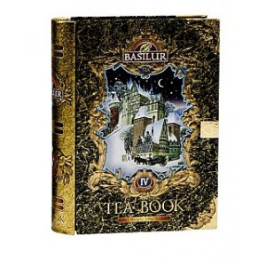 BASILUR Tea Book IV. Black plech 100g (7592)
