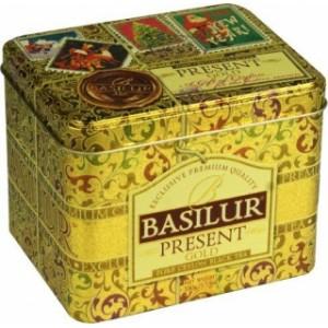 BASILUR Present Gold plech 100g (7593)
