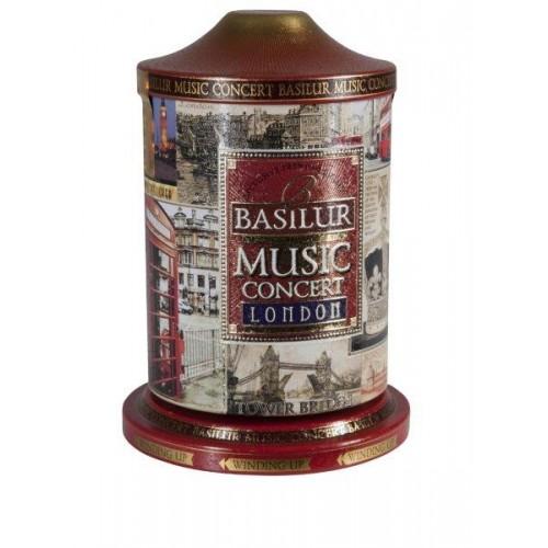 BASILUR Music Concert London plech 100g (7609) - hracia skrinka