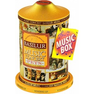 BASILUR Music Concert Pets plech 100g (7610) - hracia skrinka
