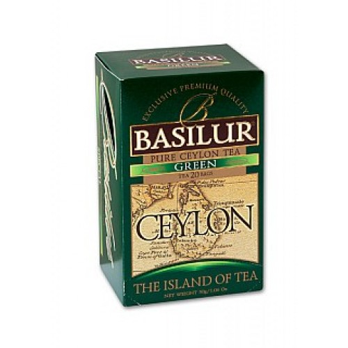BASILUR Island of Tea Green 20x2g (7612)