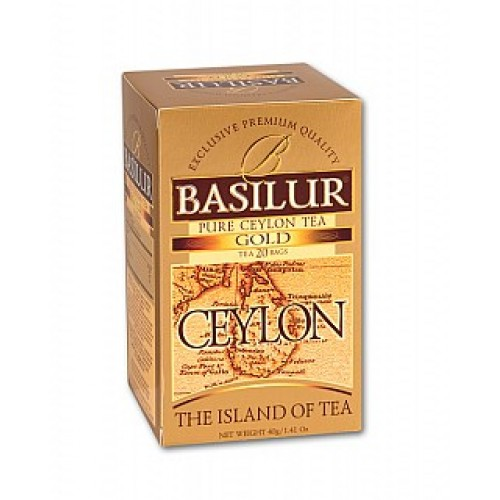BASILUR Island of Tea Gold 20x2g (7613)