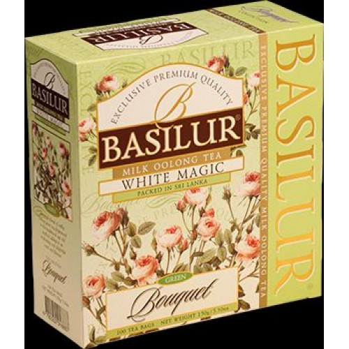 BASILUR Bouquet White Magic 100x1,5g (7625)