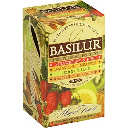 BASILUR Assorted Black Magic 4x5x2g (7638)