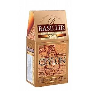 BASILUR Island of Tea Gold OP1 papier 100g (7650)
