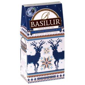 BASILUR Knitted Folk Indigo papier 90g (7678)