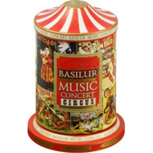BASILUR Music Concert Circus plech 100g (7682) - hracia skrinka