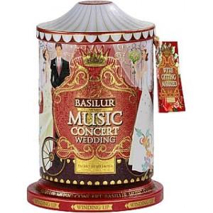 BASILUR Music Concert Wedding plech 100g (7683) - hracia skrinka
