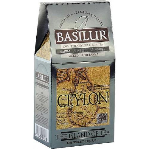 BASILUR Island of Tea Platinum papier 100g (7690)