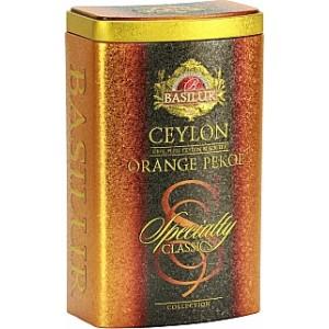 BASILUR Specialty Orange Pekoe plech 100g (7714)
