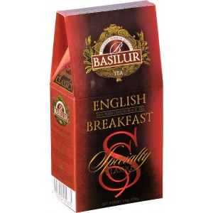 BASILUR Specialty English Breakfast papier 100g (7758)