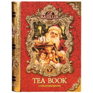 BASILUR Tea Book V. Red plech 100g (7769)