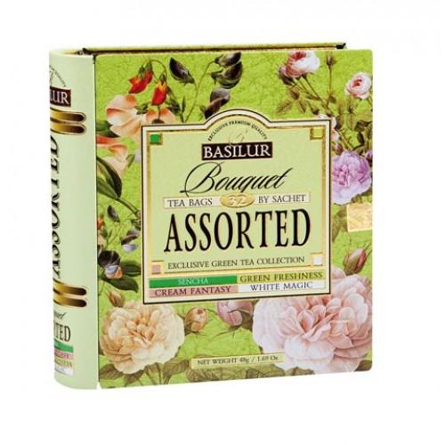 BASILUR Book Assorted 32 Bouquet plech 32x1.5g (7771)