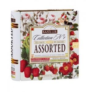Basilur tea - Kniha Variácia kombi 32 sáčkov (7772)