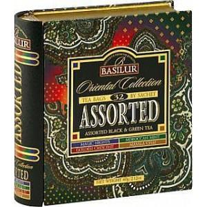 BASILUR Book Assorted Orient plech 24x2g a 8x1,5g (7783)