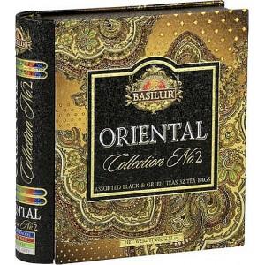 BASILUR Book Orient Assorted II, plech, 32 gastro sáčkov (7785)