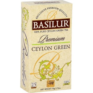 BASILUR Premium Ceylon Green, 25x2g (3886)