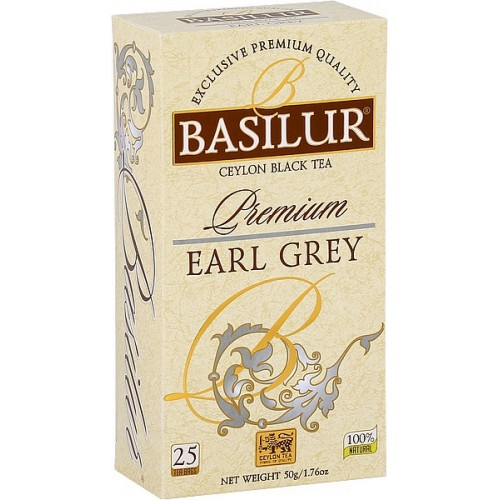 BASILUR Premium Earl Grey, 25x2g (3882)