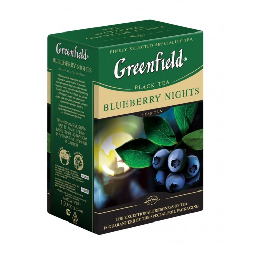 Greenfield blueberry nights 100g pap. č (5516)