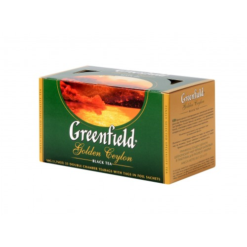 GREENFIELD Classic Black Golden Ceylon 25x2g (5551)