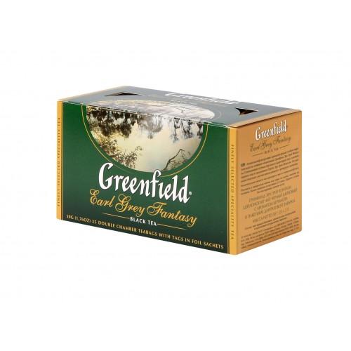 GREENFIELD Classic Black Earl Grey Fantasy 25x2g (5554)