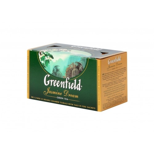 GREENFIELD Classic Green Jasmine Dream 25x2g (5561)