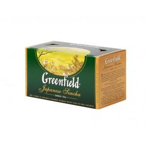 GREENFIELD Classic Green Japanese Sencha 25x2g (5562)
