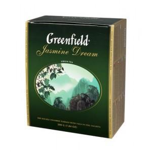 GREENFIELD Classic Green Jasmine Dream 100x2g (5754)