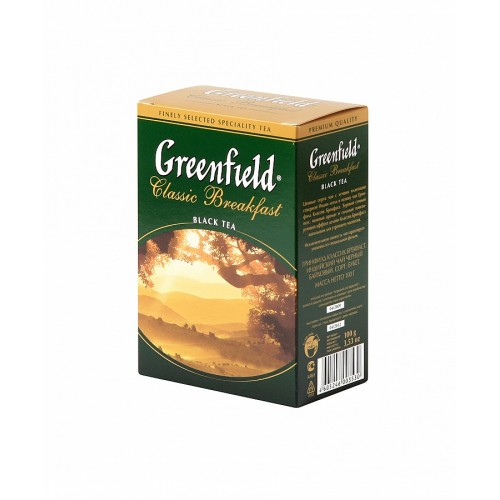 Greenfield Black Classic Breakfast, papier, 100g (5502)