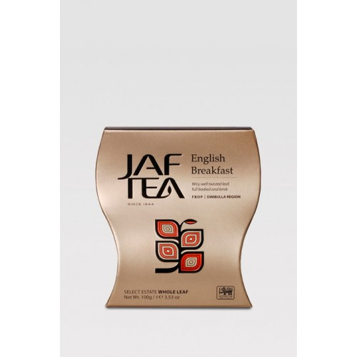 JAFTEA Black English Breakfast FBOP papier 100g (2600)