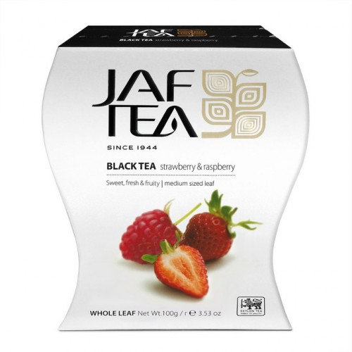JAFTEA Black Strawberry & Raspberry papier 100g (2618)