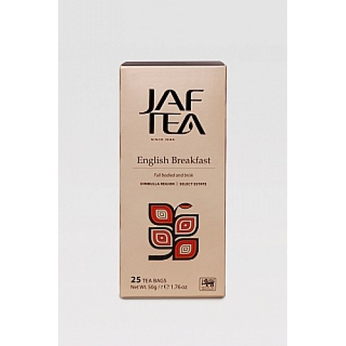 JAFTEA Black English Breakfast 25x2g (2760)