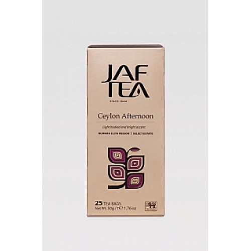 JAFTEA Black Ceylon Afternoon 25x2g (2762)