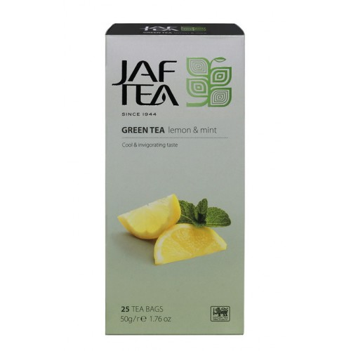 JAFTEA Green Lemon Mint 25x2g (2802)