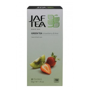 JAFTEA Green Strawberry & Kiwi 25x2g (2809)