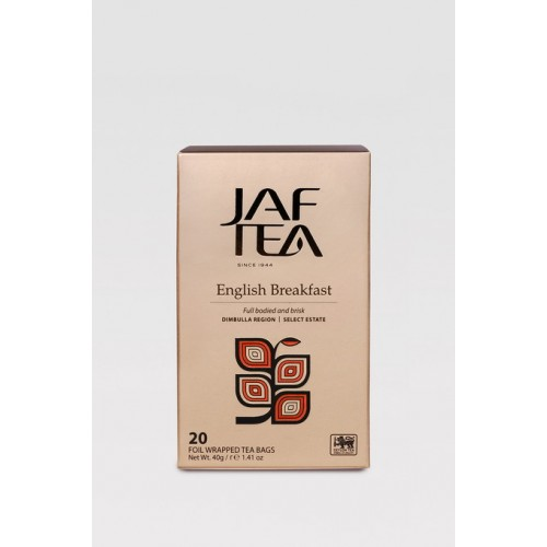 JAFTEA Black English Breakfast 20x2g (2820)