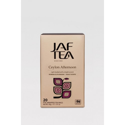 JAFTEA Black Ceylon Afternoon 20x2g (2822)