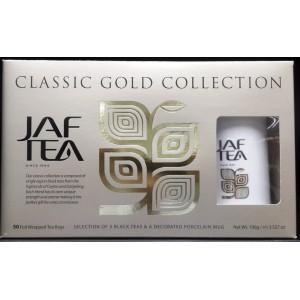 JAFTEA Black Gold Melange & Mug set 5x10x2g (2830)